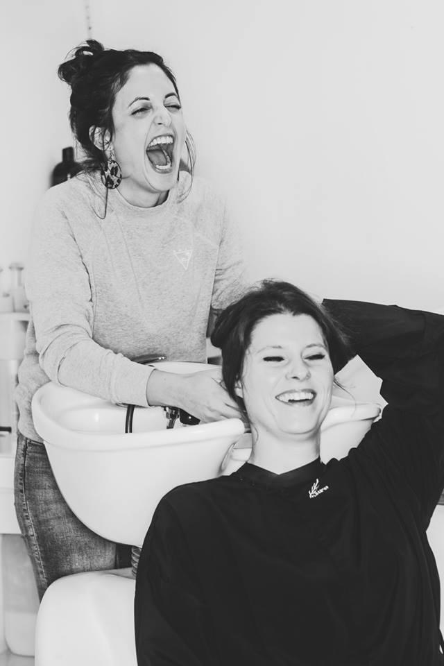 Haarwäsche bei Levi
